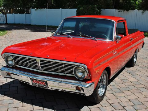 restomod 1965 Ford Ranchero custom truck for sale
