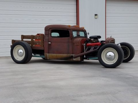 rusty patina 1935 International Harvester custom truck for sale