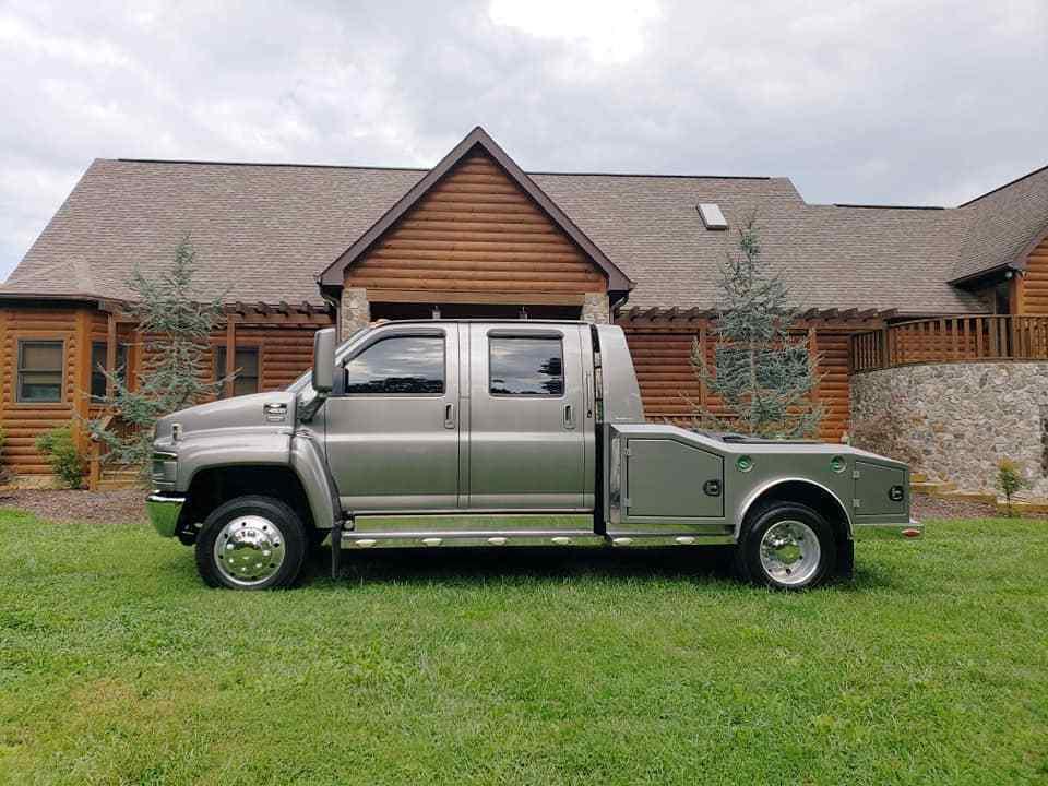 aluminium bed 2008 Chevrolet Kodiak C4500 Pickup custom