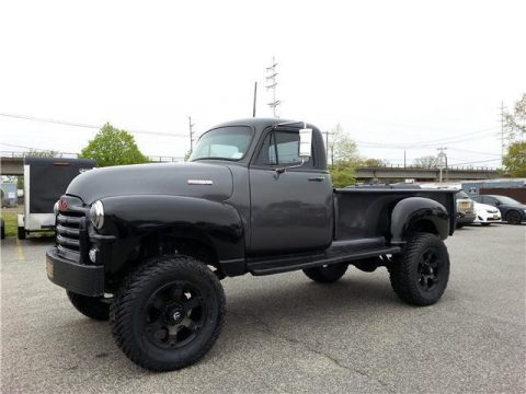 lifted 1954 GMC Pickup custom truck for sale