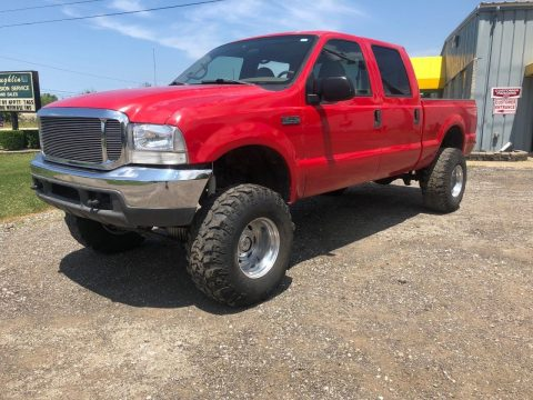 lifted 2000 Ford F 250 Lariat pickup custom for sale