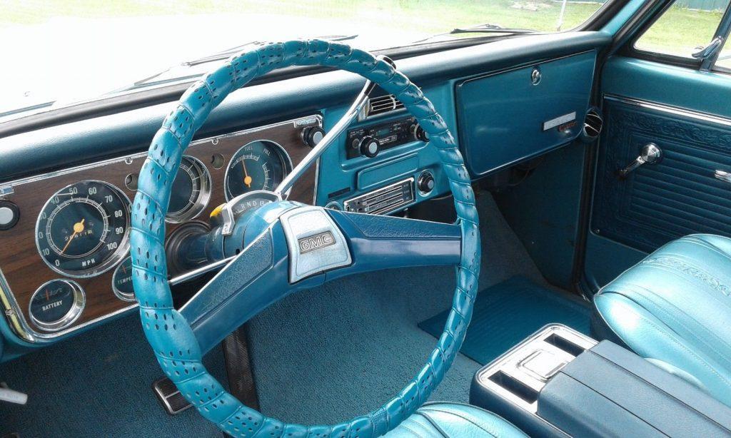 low miles 1969 GMC 1500 Sierra Grande custom truck