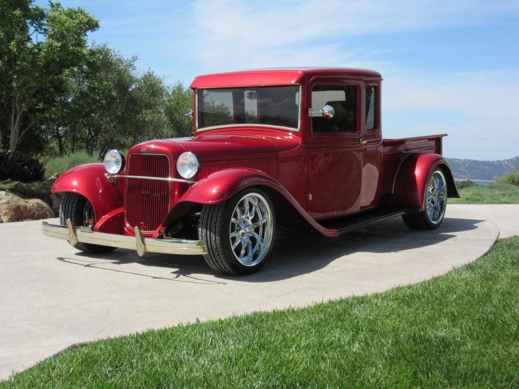 stroked 1934 Ford 1/2 Ton Pickup custom