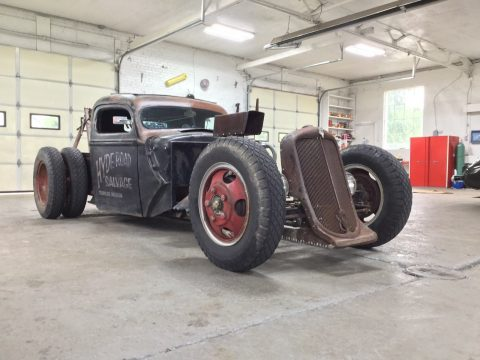 tow wrecker 1940 Ford Pickup custom for sale
