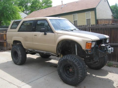 lifted 1988 Toyota 4Runner custom for sale