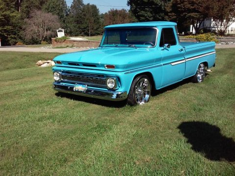many upgrades 1966 Chevrolet C 10 custom for sale
