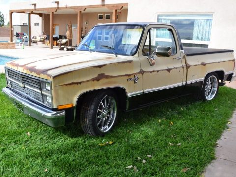 nice patina 1984 Chevrolet C 10 Dropped custom for sale