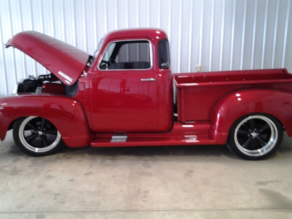nicely modified 1949 Chevrolet Pickup 3100 custom