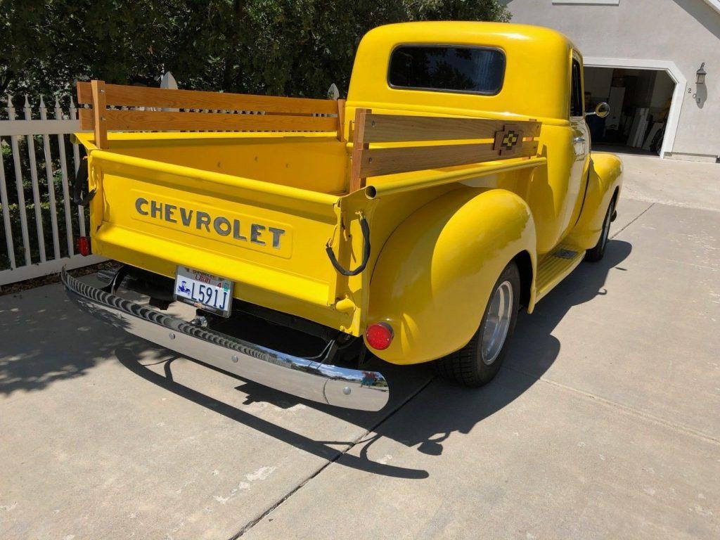 recent upgrades 1948 Chevrolet Pickup custom