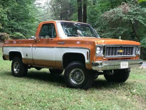 restomod 1973 Chevrolet C/K Pickup 1500 Cheyenne Super custom for sale