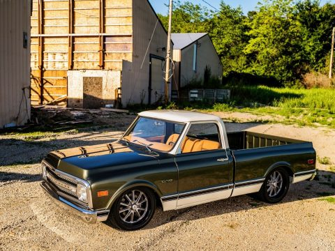 restored 1969 Chevrolet C 10 pickup custom for sale