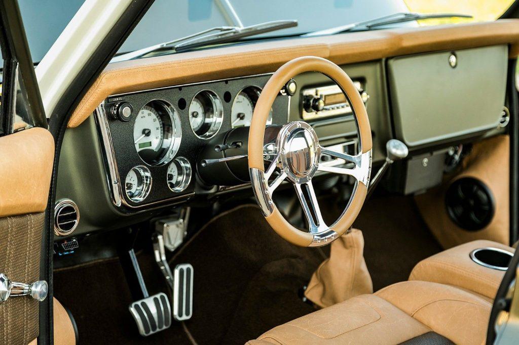 restored 1969 Chevrolet C 10 pickup custom