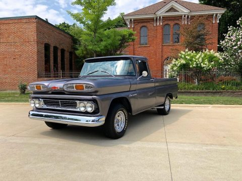 upgraded 1960 Chevrolet Pickups Apache custom for sale
