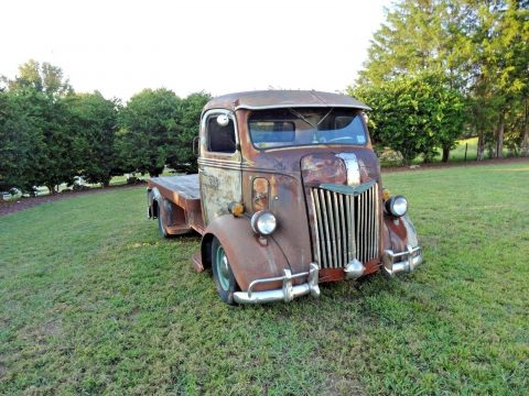 vintage 1941 Ford Cabover custom truck for sale