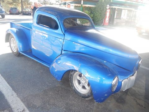 damaged 1941 Willys 439 Pickup custom for sale