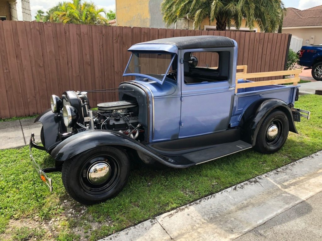 fully refurbished 1931 Ford Model A custom truck
