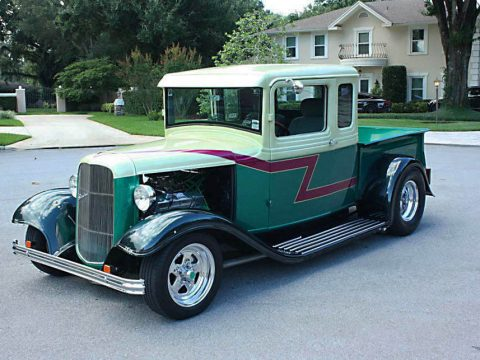 hot rod 1933 Ford 5 Window Pickup custom truck for sale