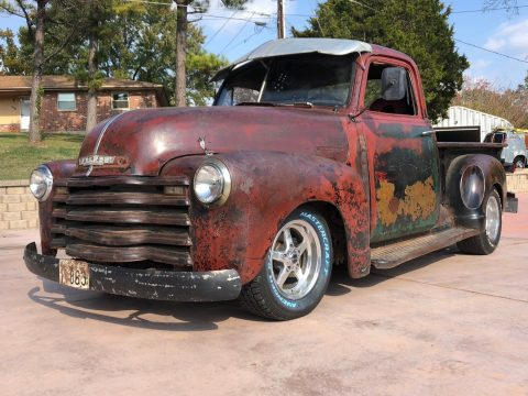 nice patina 1947 Chevrolet Pickup 3 Window Short Bed custom truck for sale