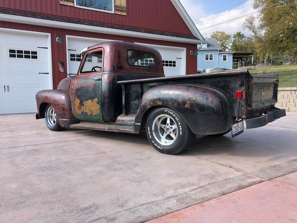 nice patina 1947 Chevrolet Pickup 3 Window Short Bed custom truck