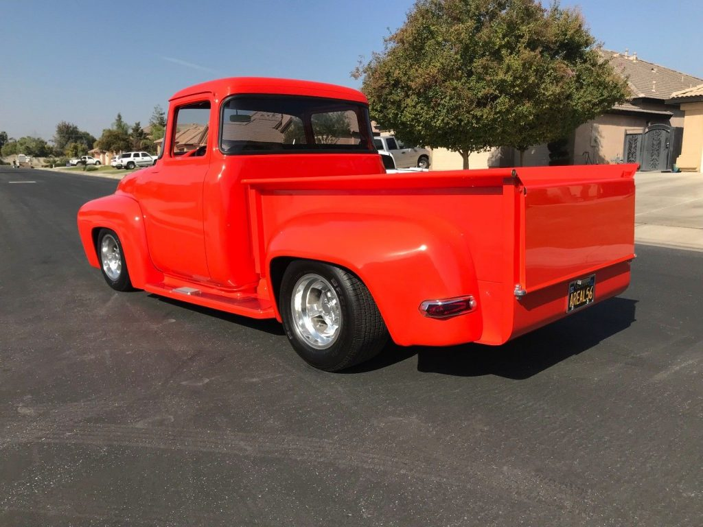 nicely modified 1956 Ford F 100 Custom truck