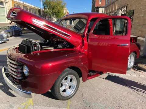 restomod 1948 Ford F1 Pickup custom truck for sale