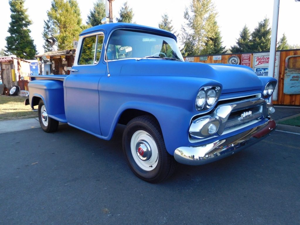 restored 1959 GMC 100 Pickup custom