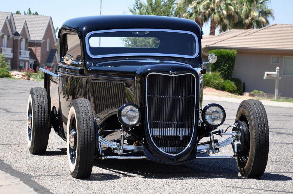 shiny 1936 Ford Pickup custom