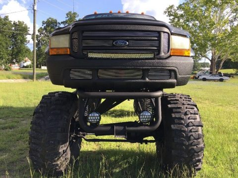 sky high lifted 1999 Ford F 250 Diesel custom truck for sale