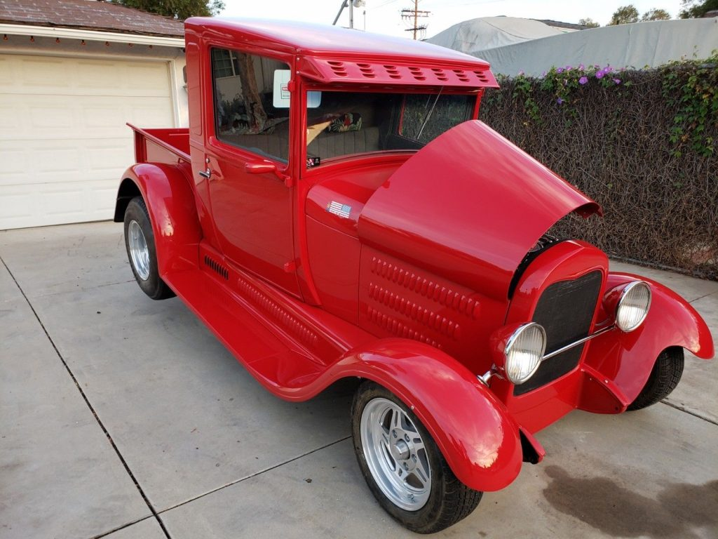 very nice 1928 Ford Model A custom truck