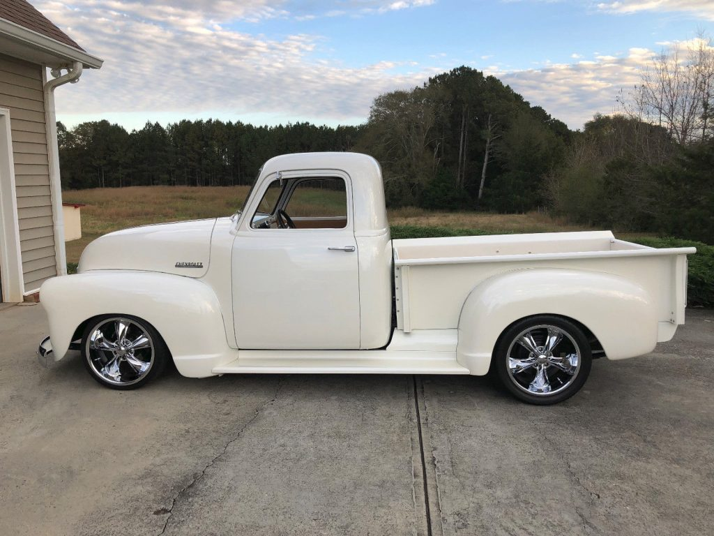wicked 1948 Chevrolet Pickup 3100 custom truck