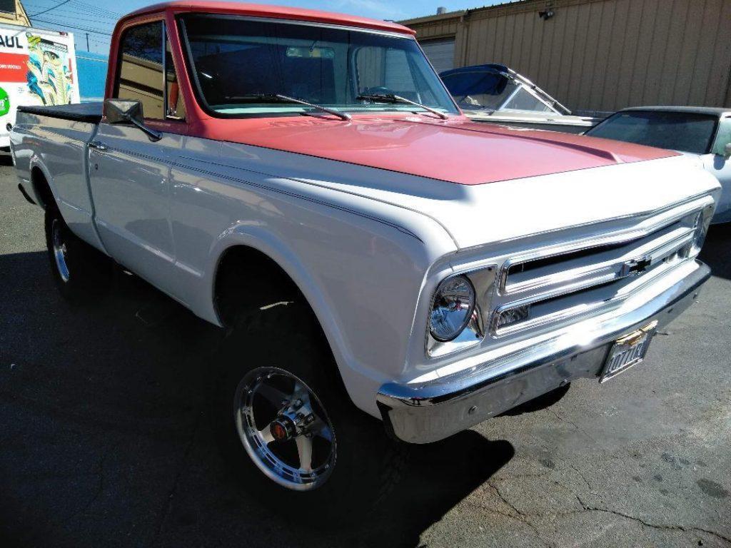383 stroker 1967 Chevrolet C/K Pickup 1500 K10 4×4 custom