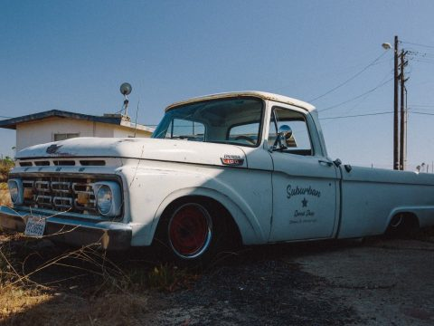all new powertrain 1964 Ford F 100 pickup bagged custom for sale