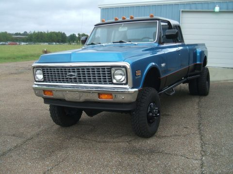 lifted 1972 Chevrolet C/K Pickup 3500 custom for sale