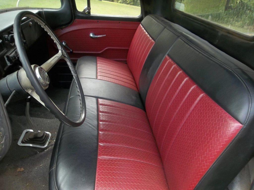 lowered 1962 GMC 1/2 ton pickup custom