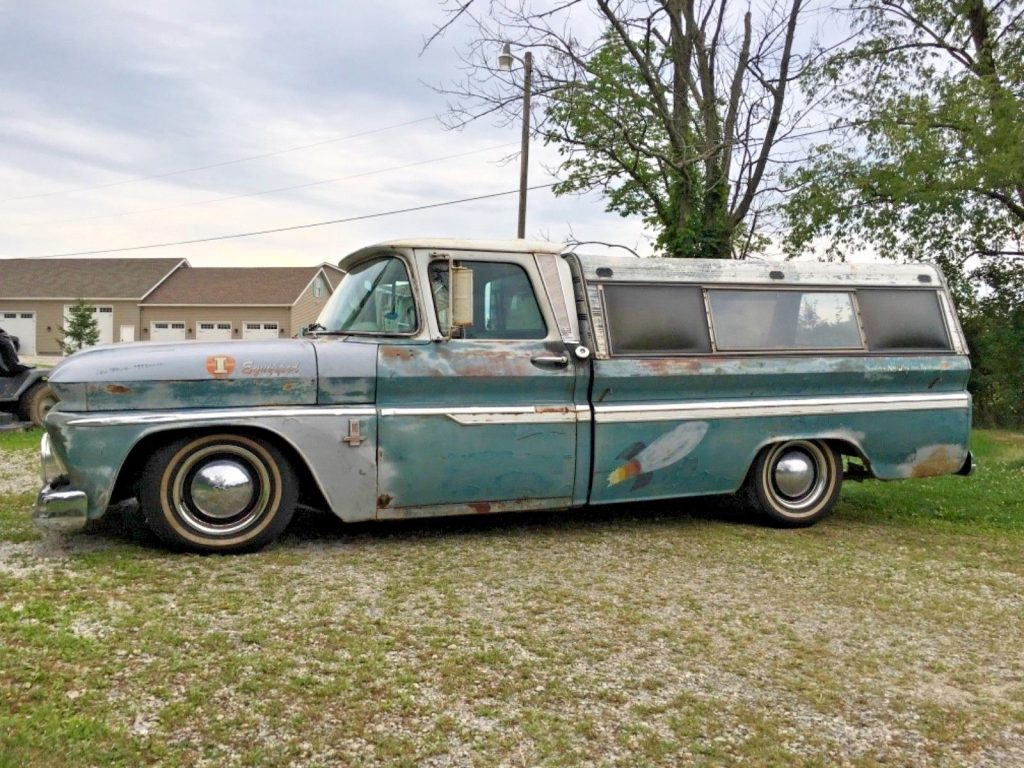 lowered 1963 Chevrolet C 10 pickup custom