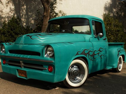 nice build 1957 Dodge Pickup custom for sale
