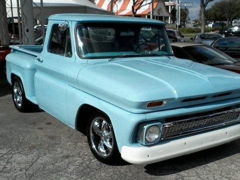 rebuilt chassis 1966 Chevrolet C 10 custom for sale