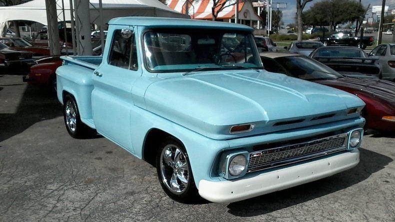rebuilt chassis 1966 Chevrolet C 10 custom