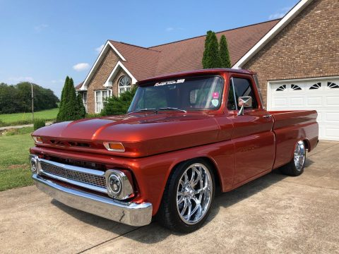 restored 1966 Chevrolet C 10 custom pickup for sale