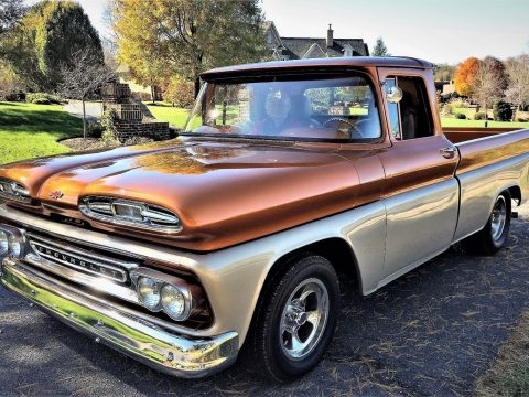 street rod 1960 Chevrolet C 10 pickup custom for sale