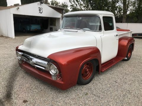 very nice 1956 Ford F 100 Custom pickup for sale