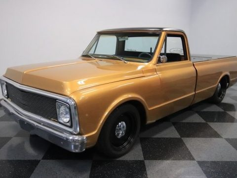 bagged 1972 Chevrolet C 10 custom for sale
