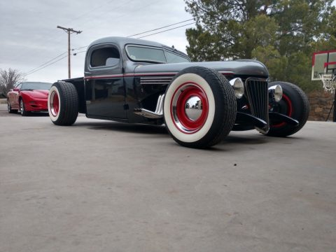 chopped 1941 Chevrolet Pickup custom for sale