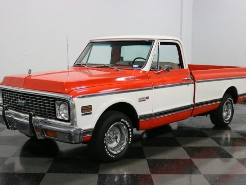fuel injected 1972 Chevrolet C 10 Cheyenne Super custom pickup for sale