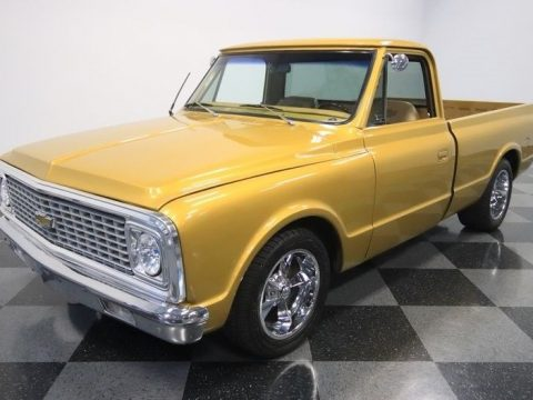 modern upgrades 1972 Chevrolet C 10 custom pickup for sale