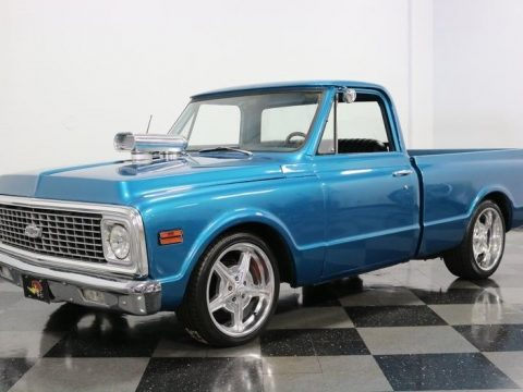 nicely built 1972 Chevrolet C 10 pickup custom for sale