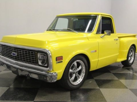 nicely modified 1972 Chevrolet C 10 custom for sale