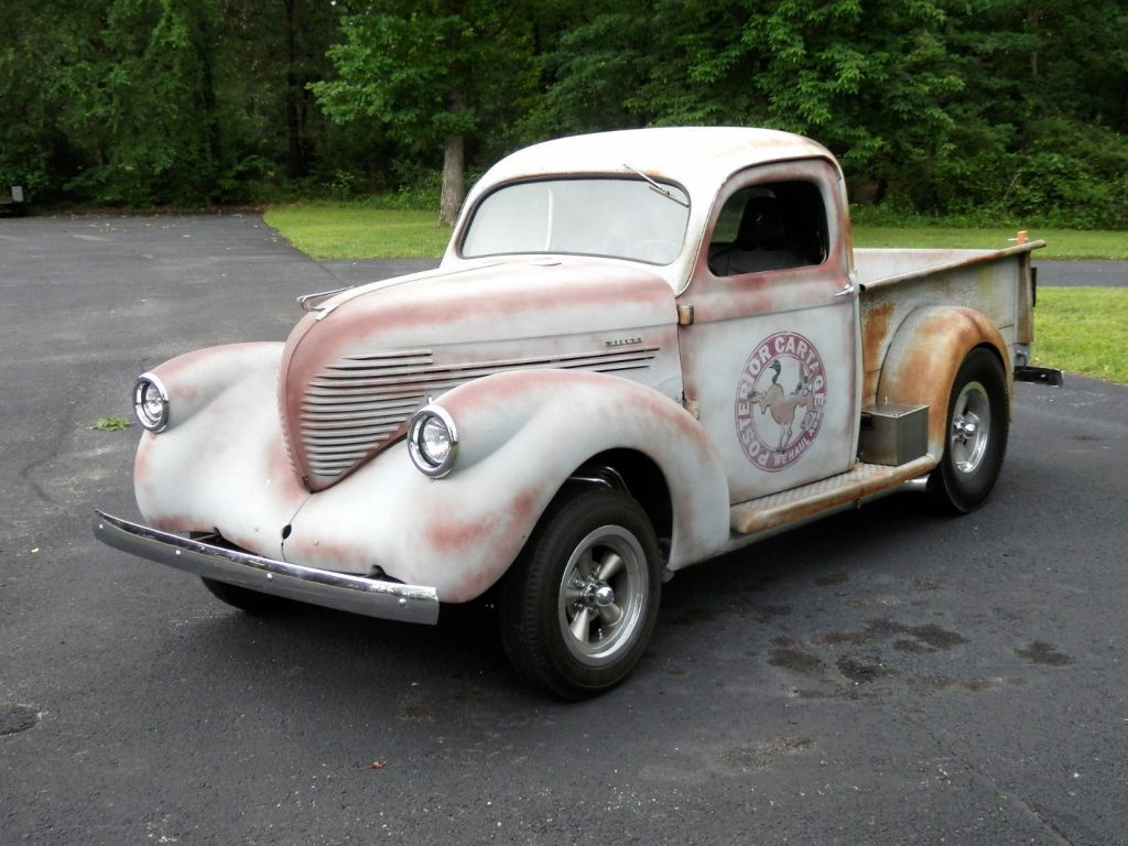pro built 1937 Willys Model 37 Pickup custom