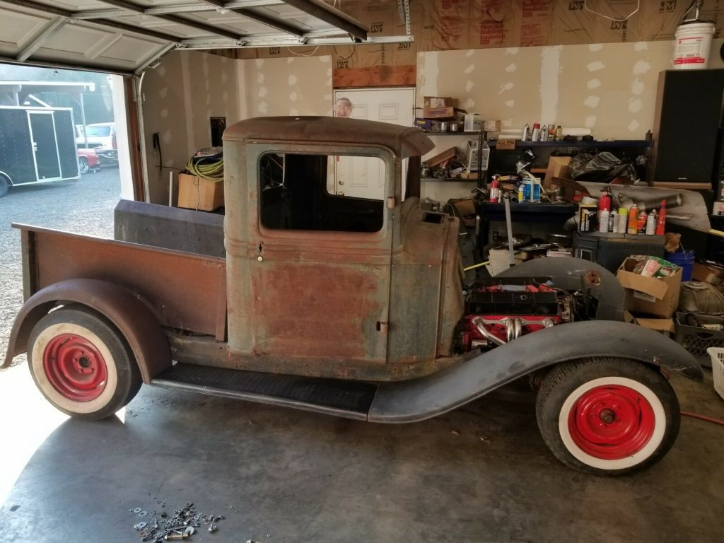 project 1934 Ford Pickup custom