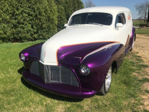 restomod 1947 Chevrolet Sedan Delivery custom for sale